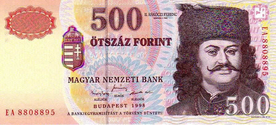 Ötszázas bankjegy
