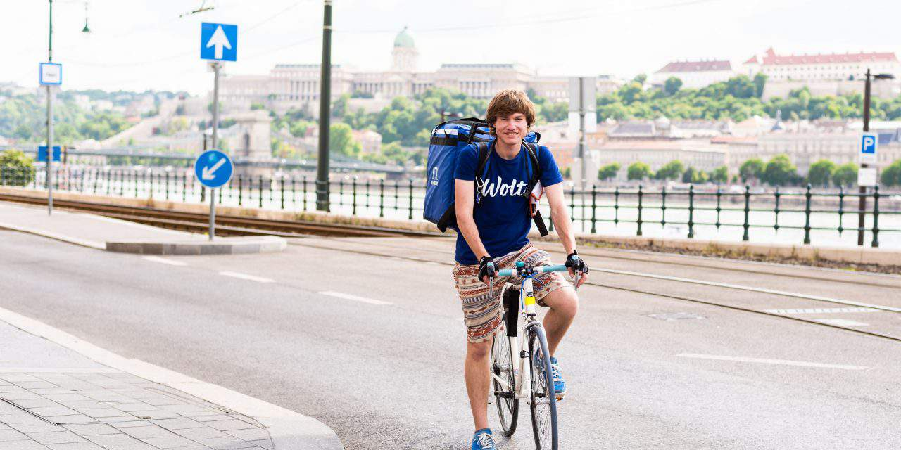 Wolt – the popular food app from Finland has arrived to Budapest