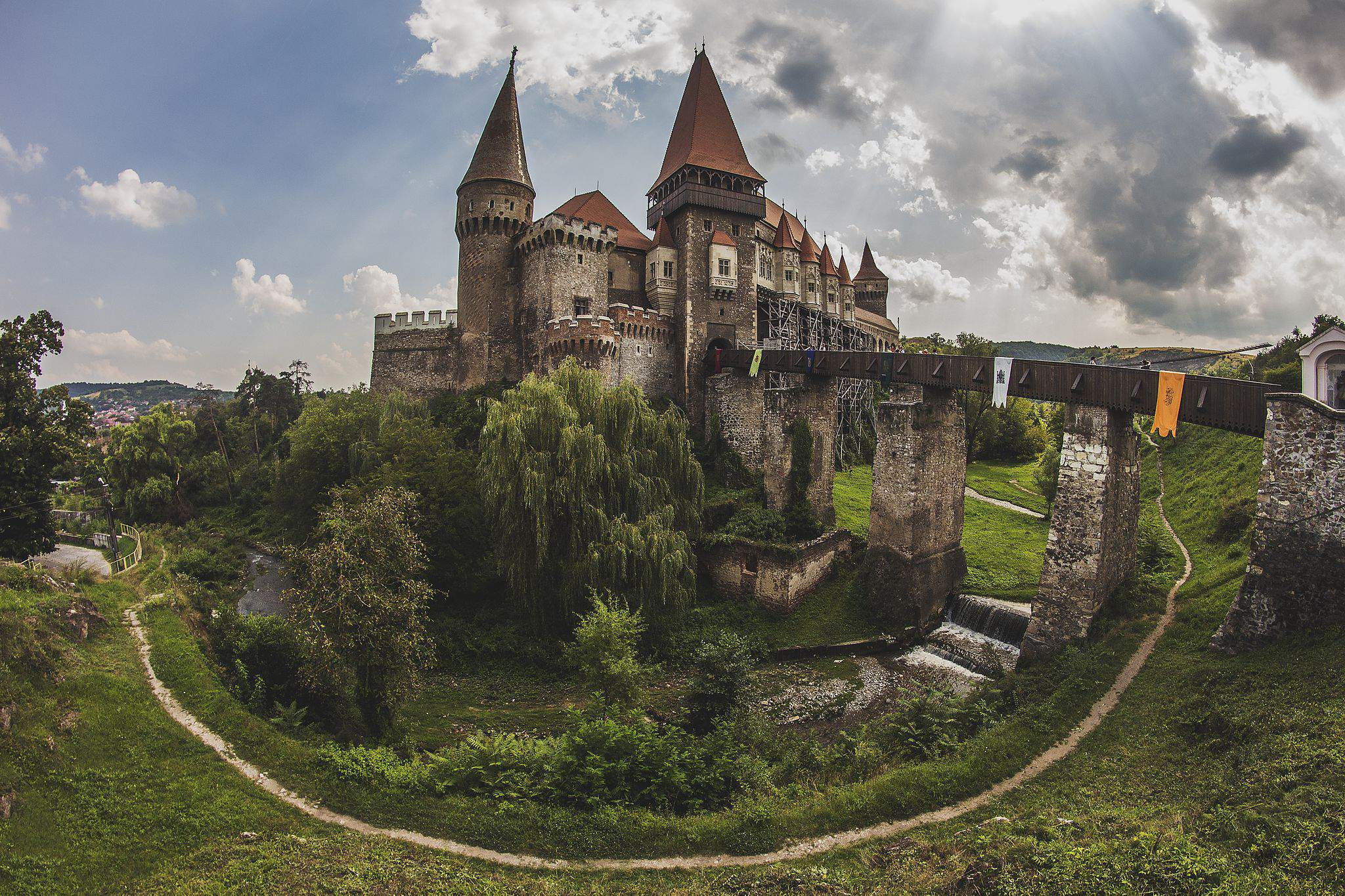 vajdahunyad castle, romania