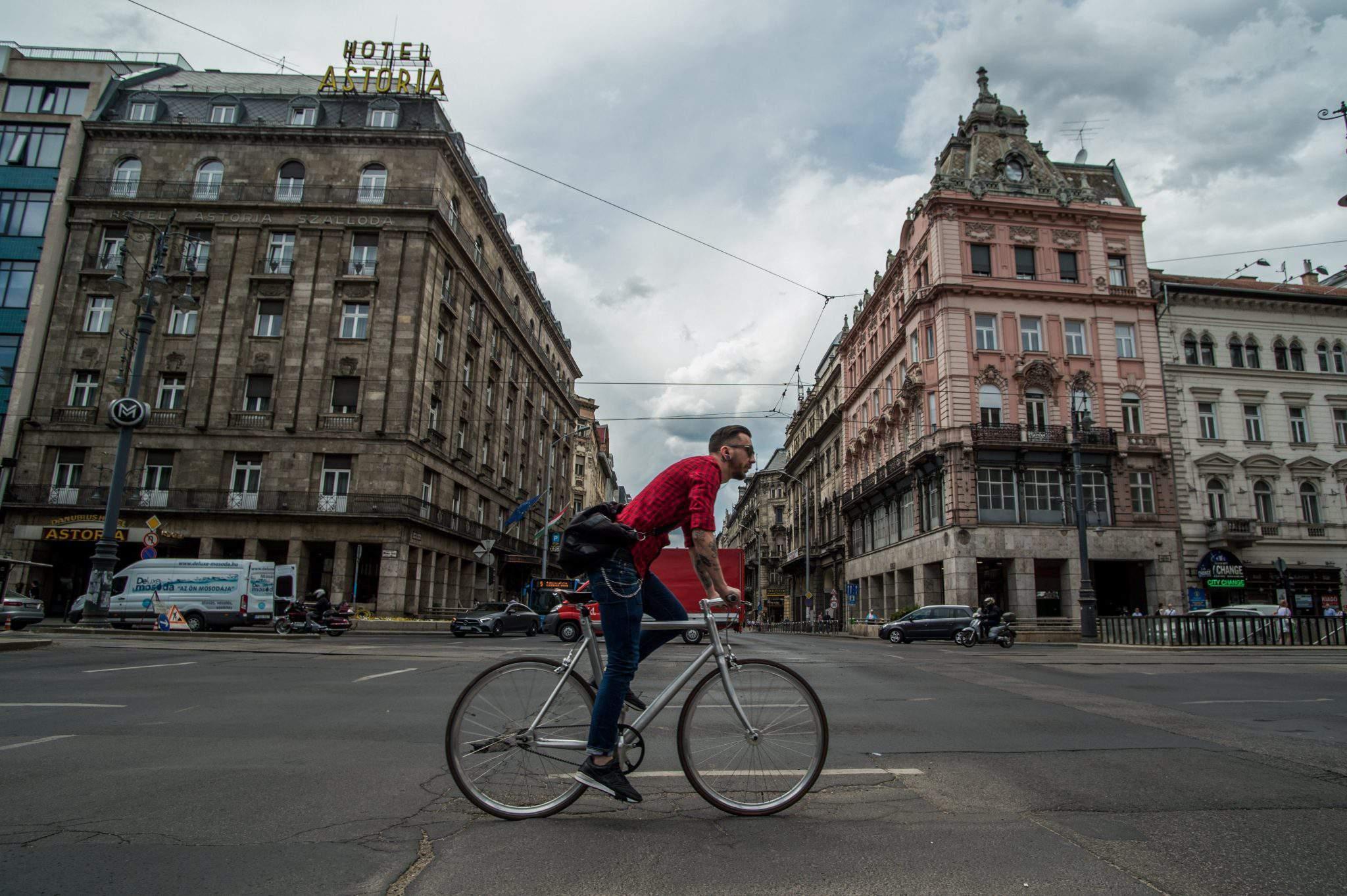budapest bicycle bike