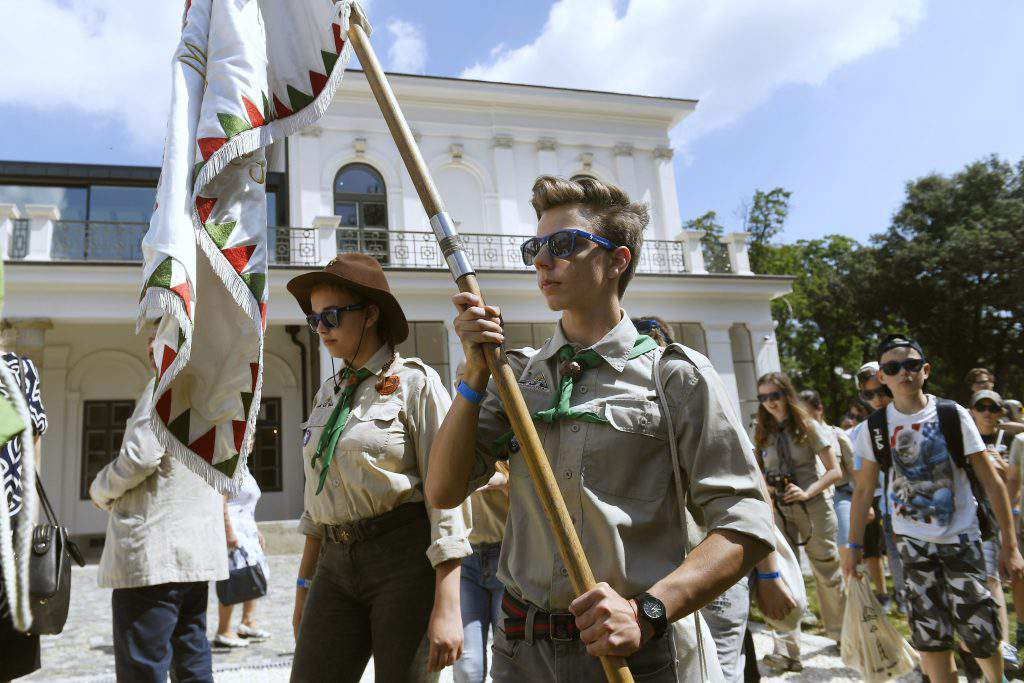 Inauguration of the training centre of the Hungarian Scout Association
