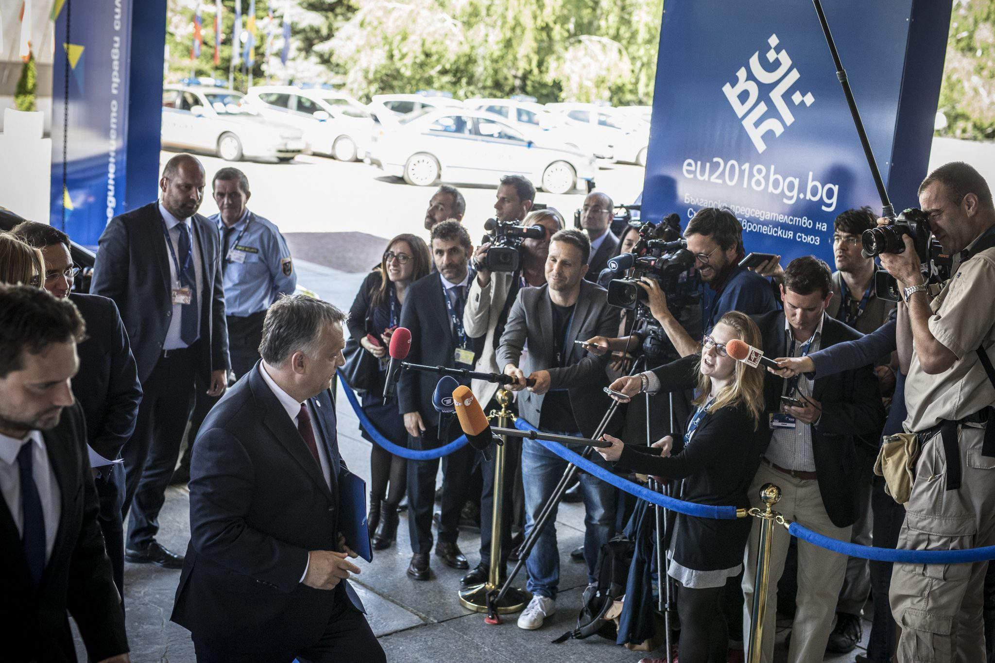 EU summit Orbán Sofia