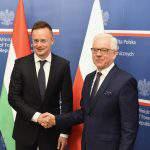 poland hunary foreign minister