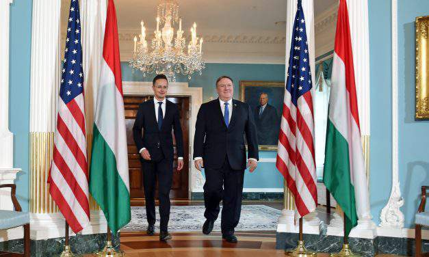 Hungary, US strengthen strategic alliance, says foreign minister in Washington, DC
