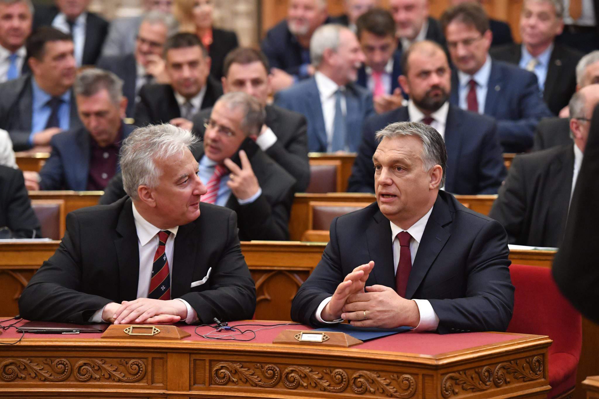 Orbán Semjén Prime Minister Hungary