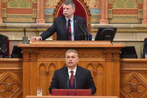 Orbán Hungary Parliament