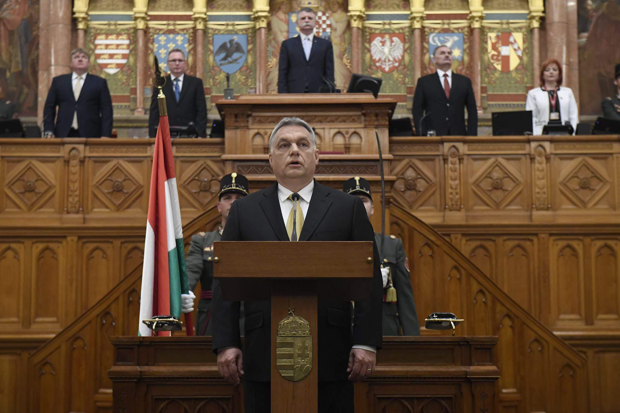 Prime Minister Viktor Orbán Hungarian Parliament
