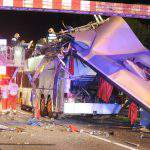 bus accident Budapest