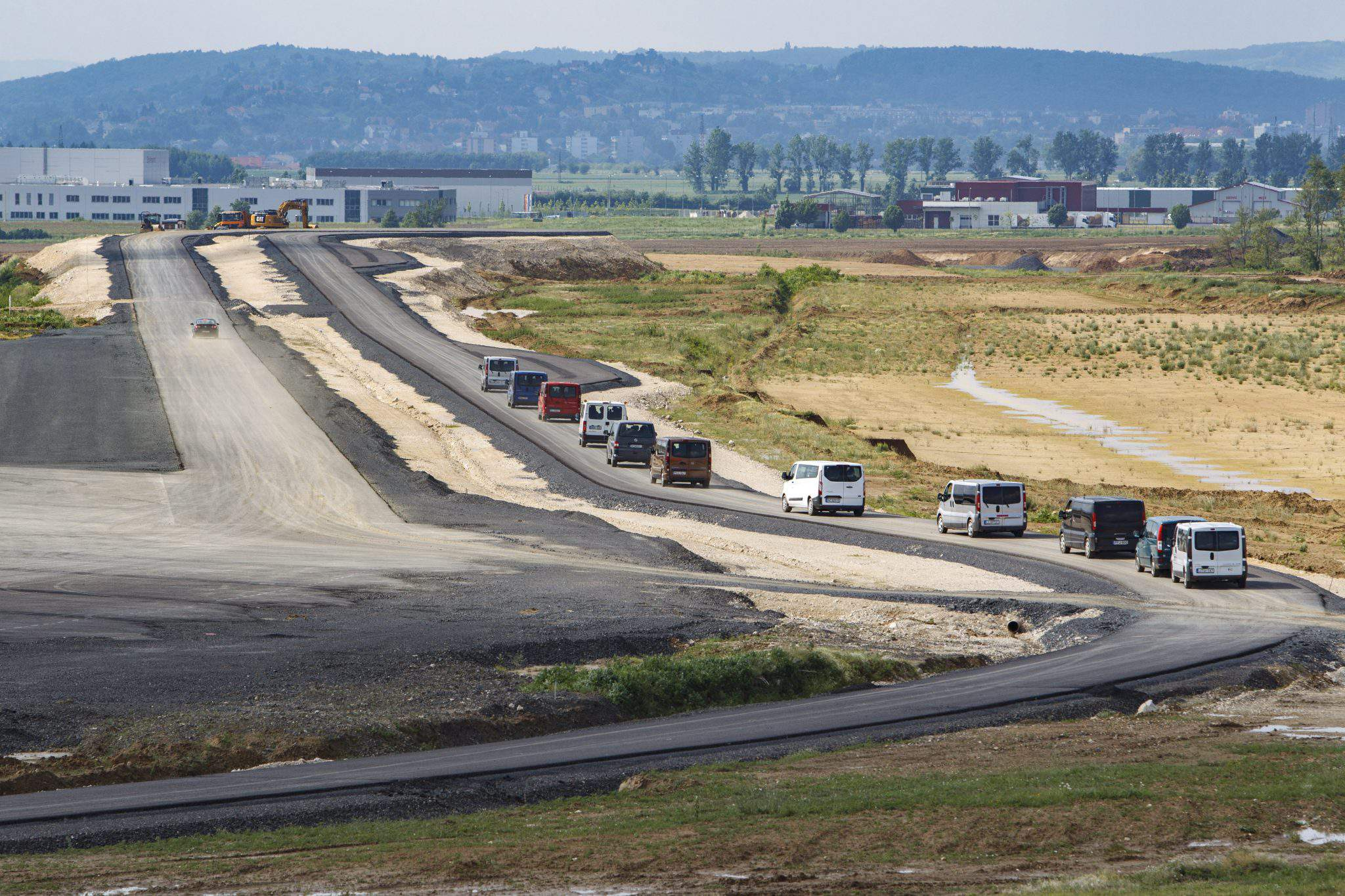Hungary's biggest test track soon to be finished