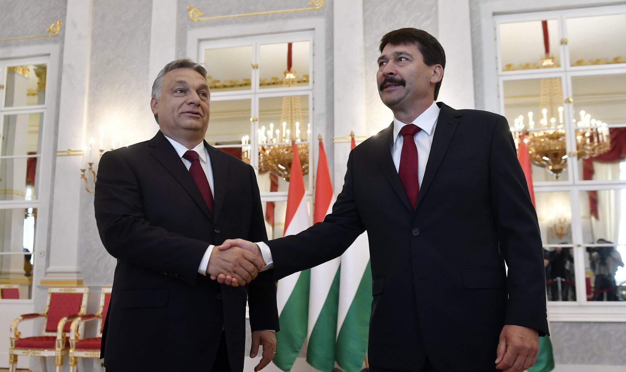 Prime Minister Orbán President Áder Hungary