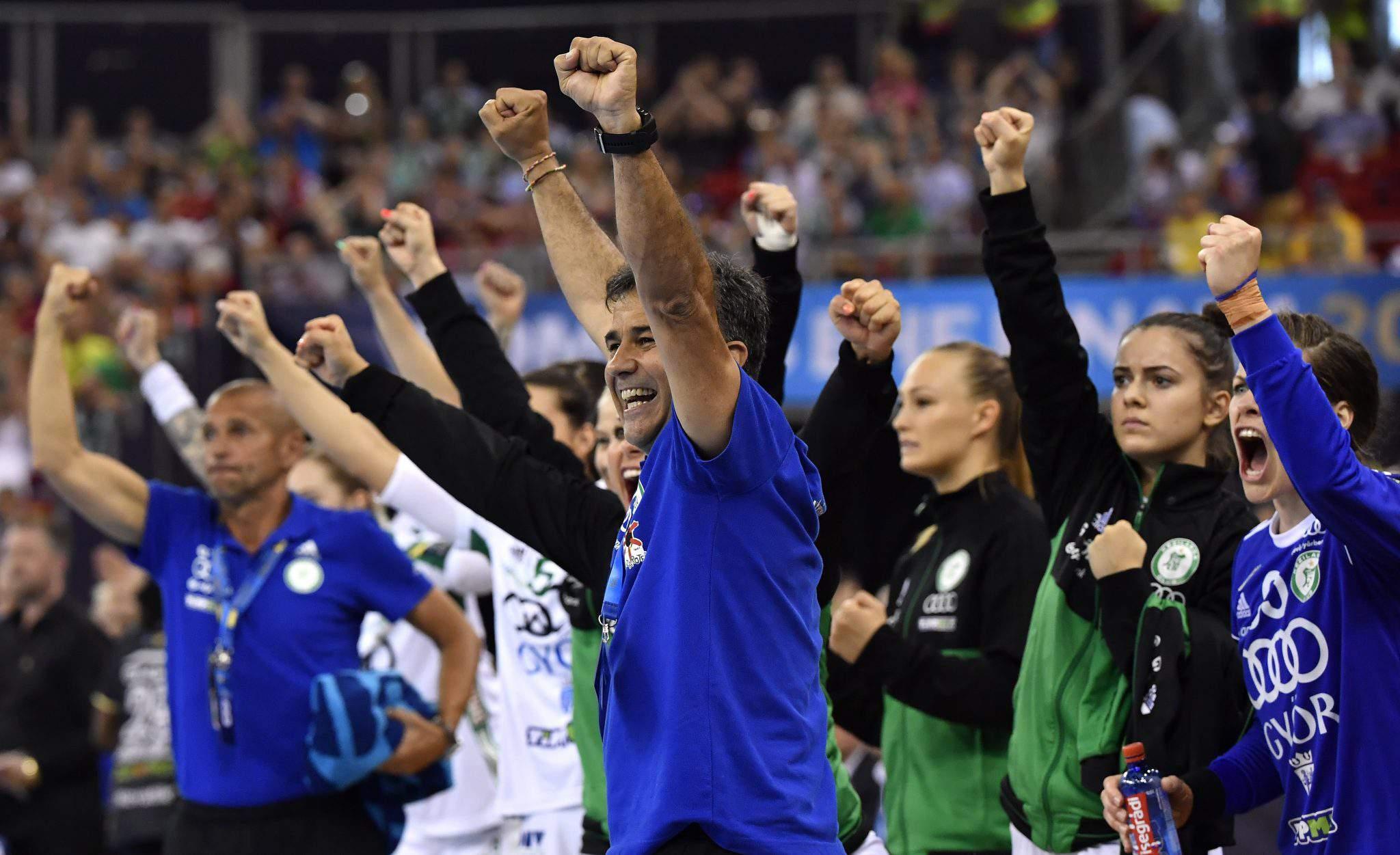 Győri ETO handball team hungary Final Four