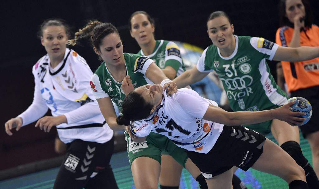 Handball Gyõri Audi ETO - Vardar Szkopje