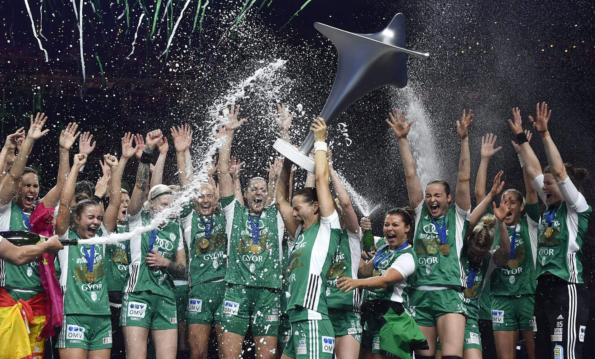 GYÖR BECOME FIRST TO DEFEND FINAL4 TITLE