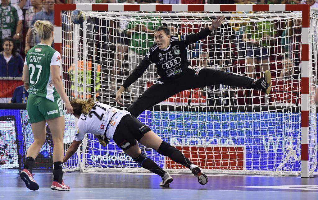 goalkeeper handball Győri ETO