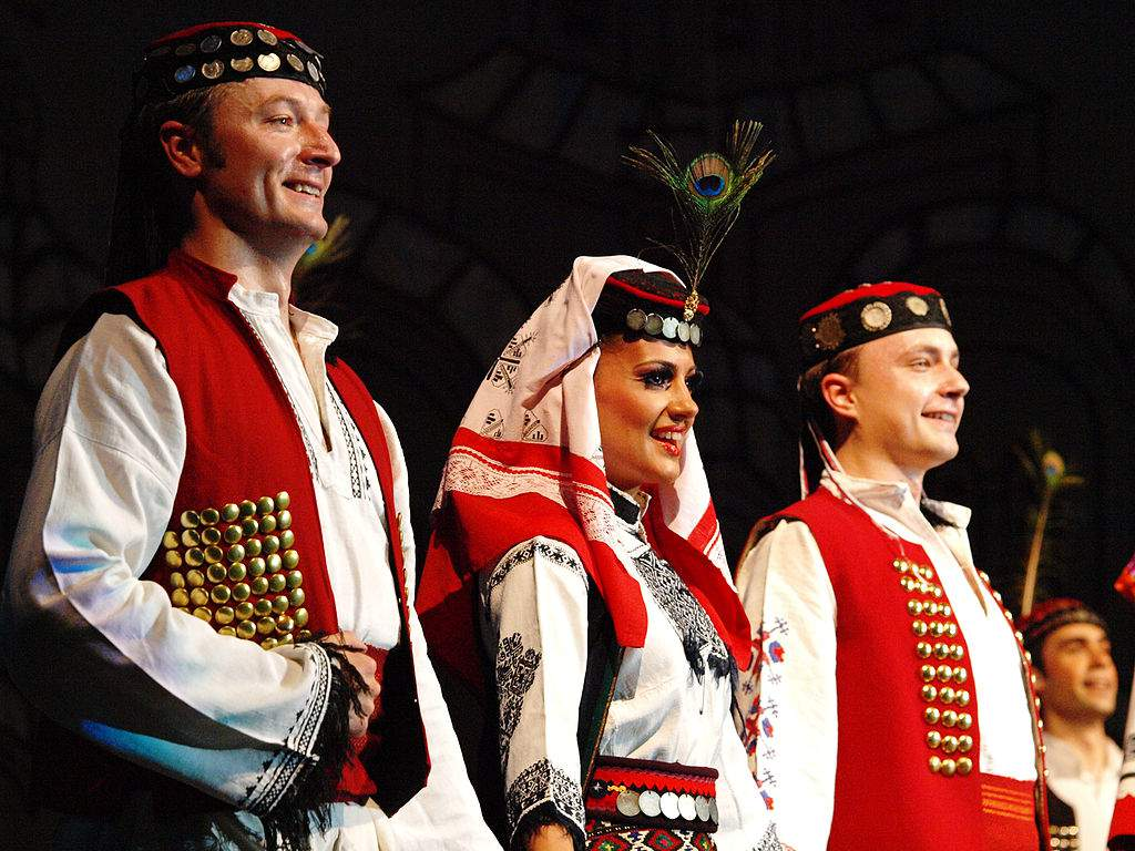 serbian traditional folklore slavic balkan