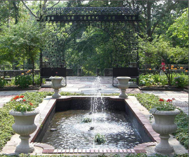 hungarian cultural garden, cleveland, ohio, usa