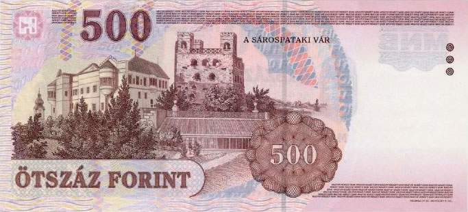 500 forint money