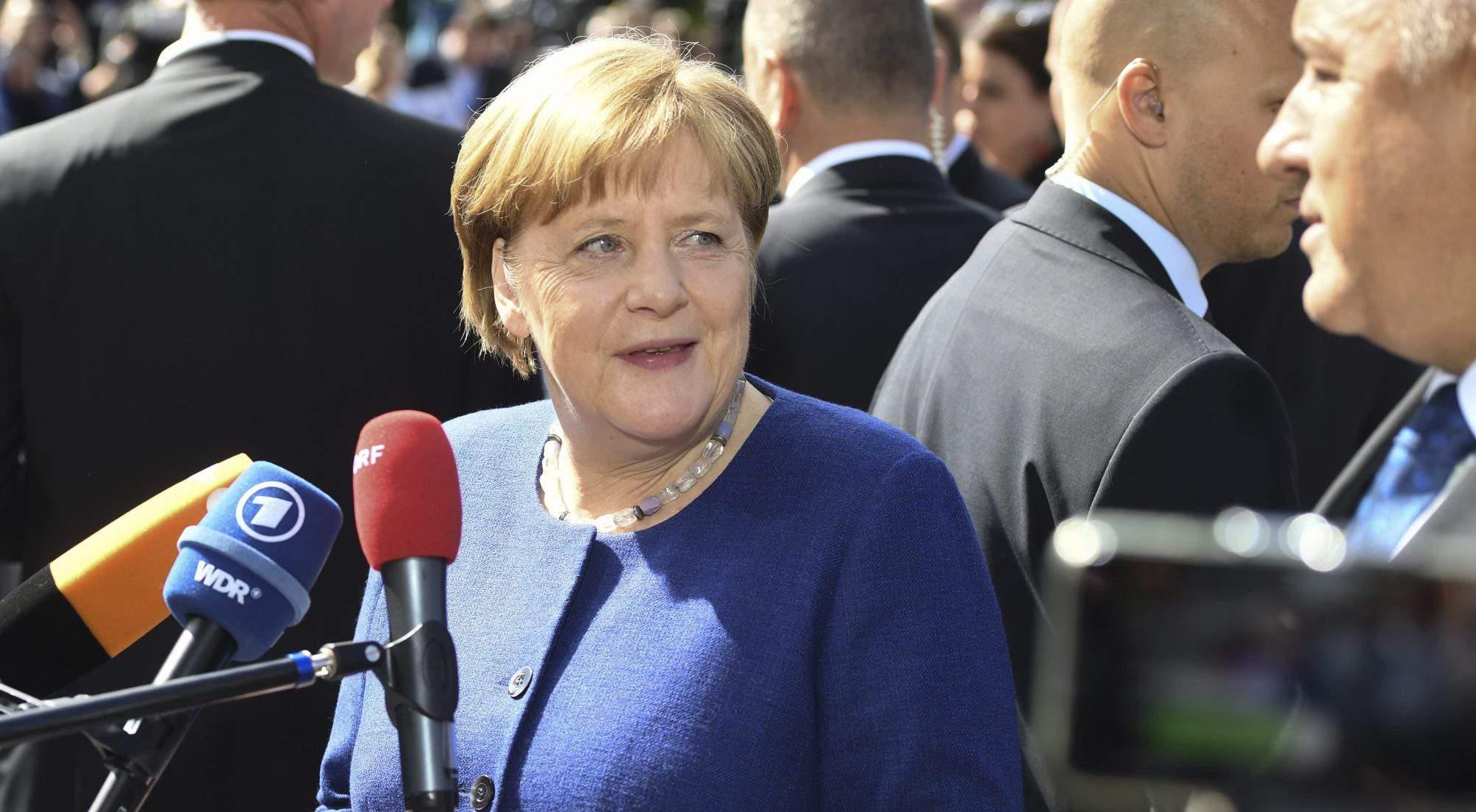 Merkel EU smile Sofia