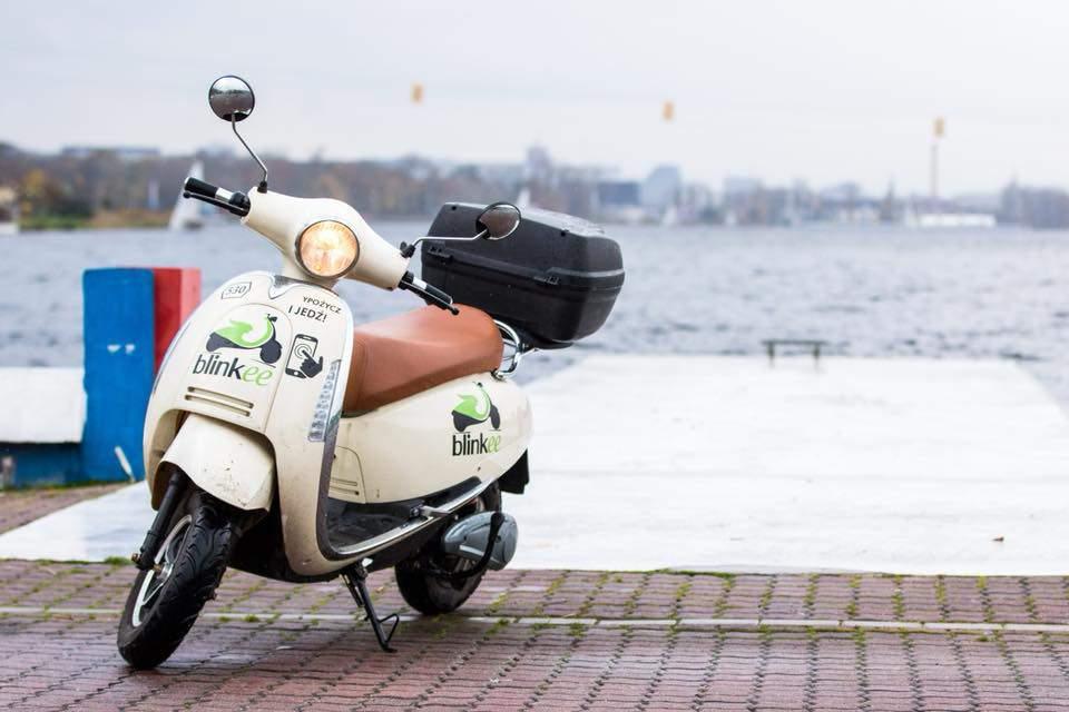 blinkee scooter budapest