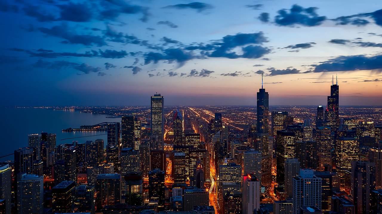 Chicago USA travel flight