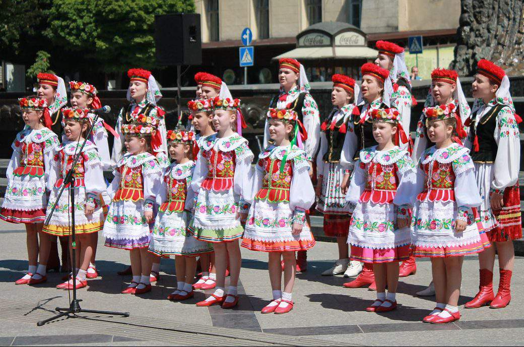 ukrainian ruthenian ethnic folklore