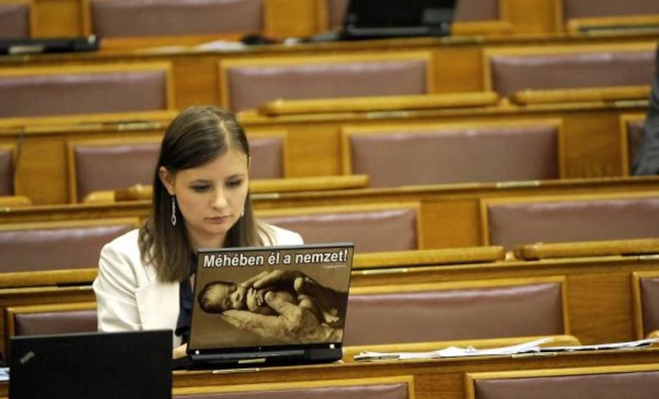 Dóra Dúró lawmaker Jobbik