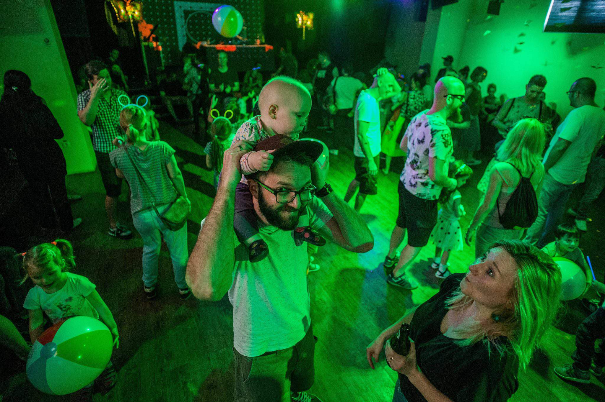 Hungarian family rave party