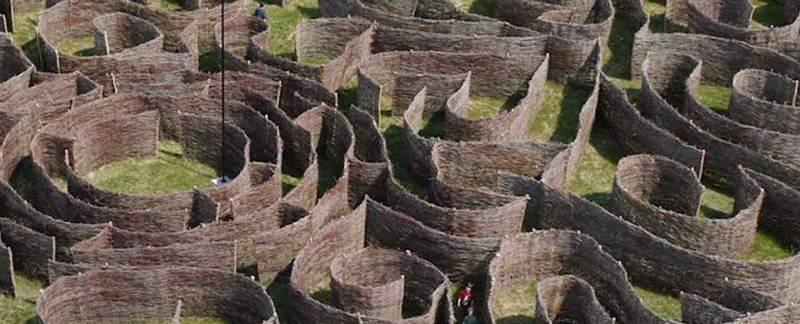 csillagösvény maze labyrinth ópusztaszer