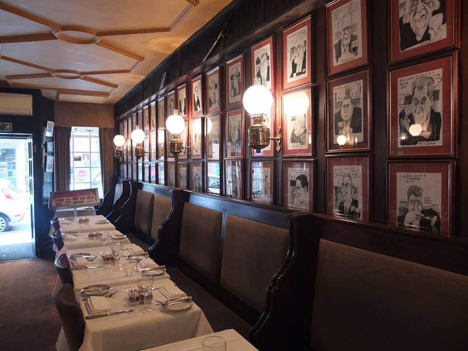 hungarian restaurant, london, gay hussar