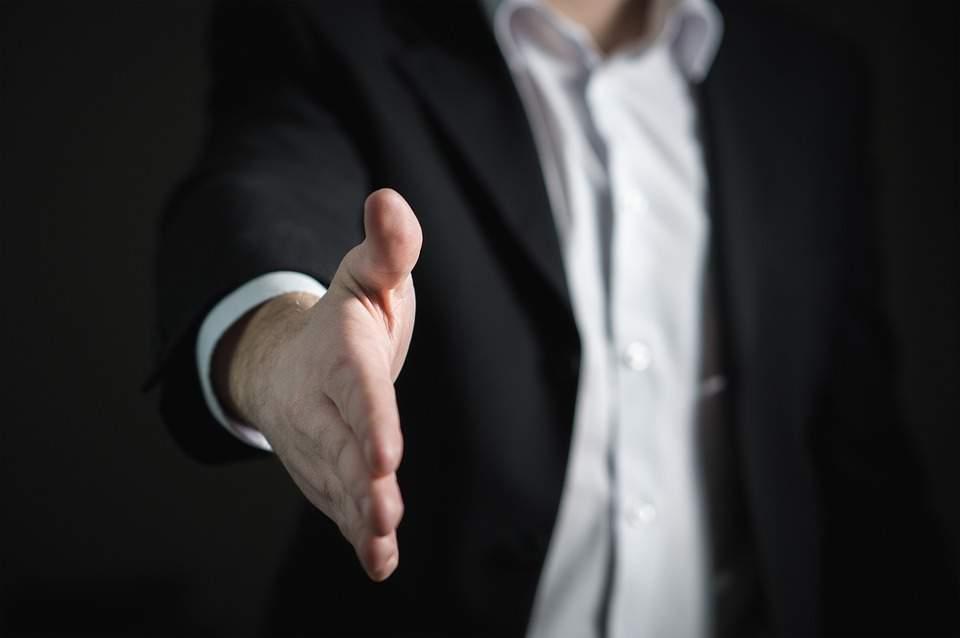 job interview work handshake