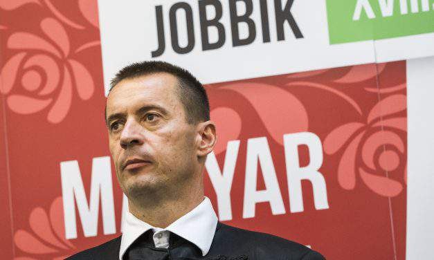 """While Fidesz' symbol is orange, ours is the double cross"" Interview with Jobbik's new president"