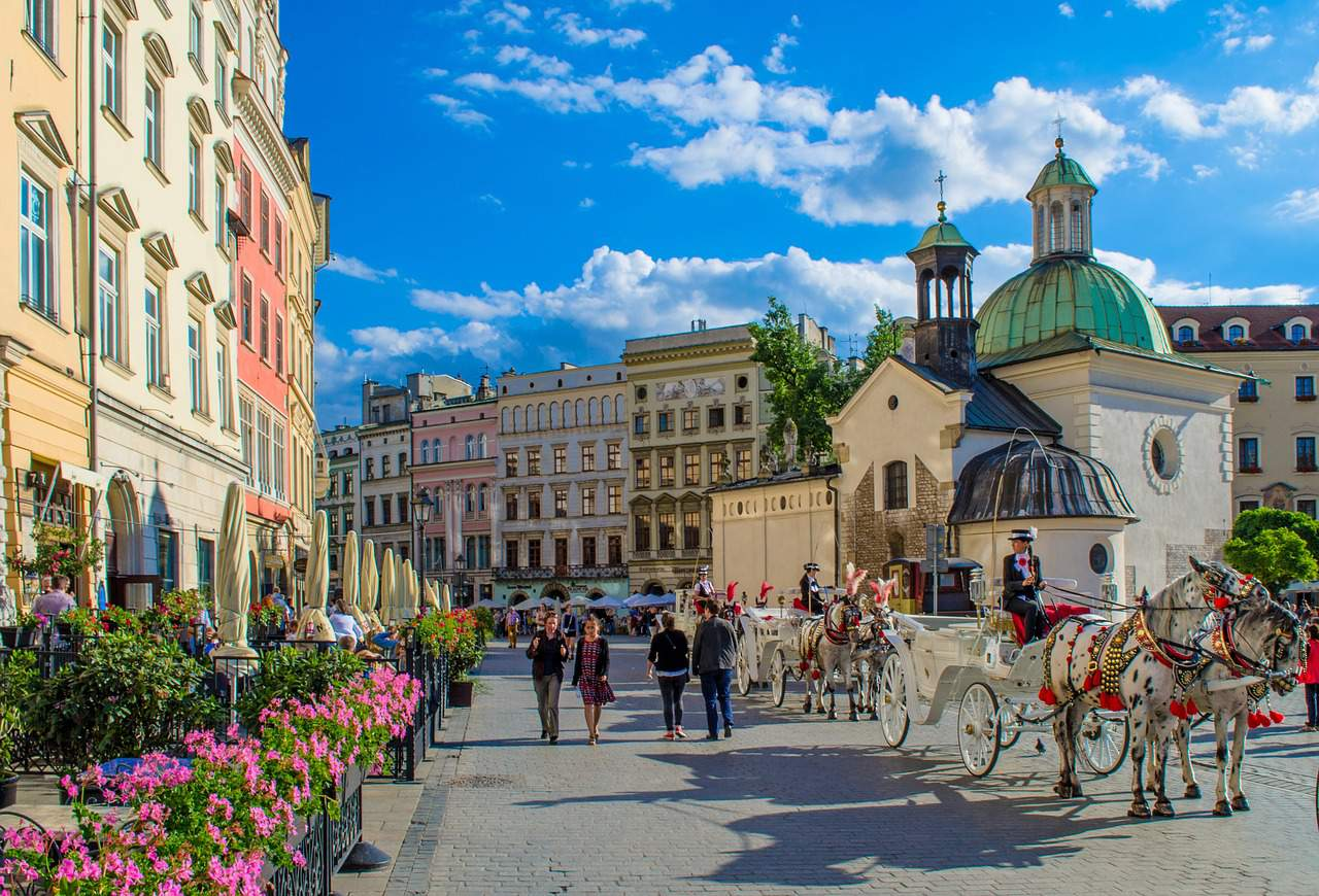 Krakow Poland flight travel