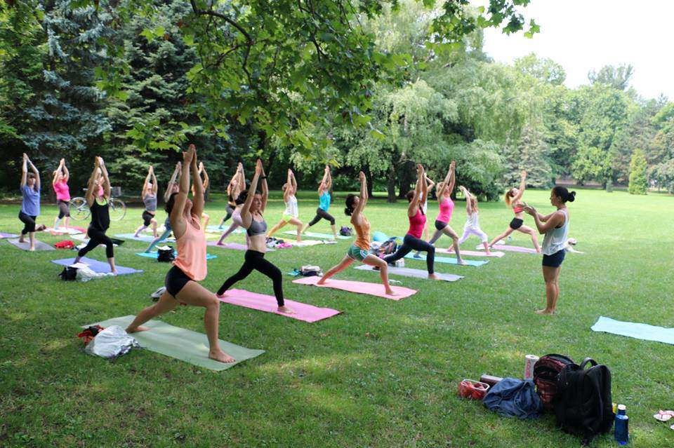 yoga, Margaret Island