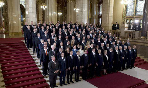 The start of Hungary's new parliamentary cycle
