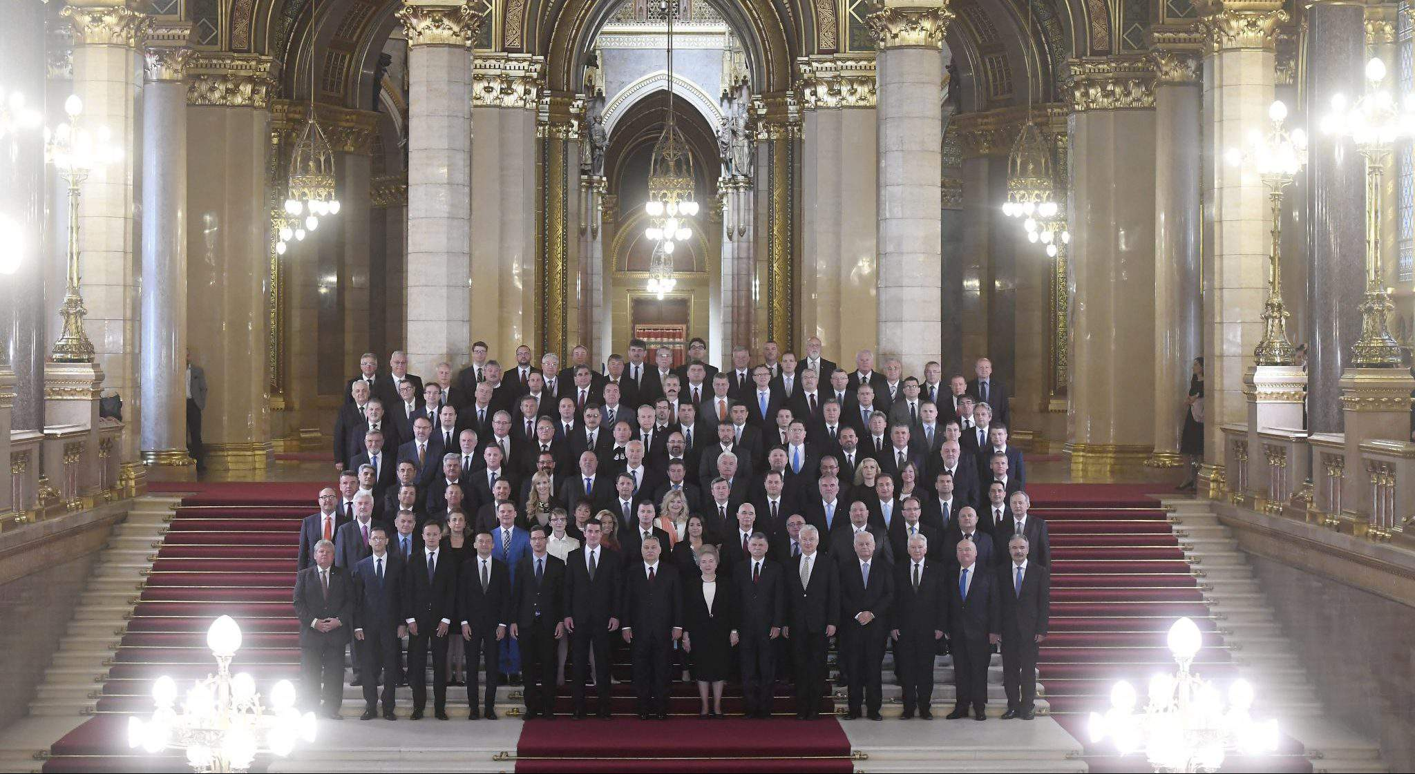 new government parliament