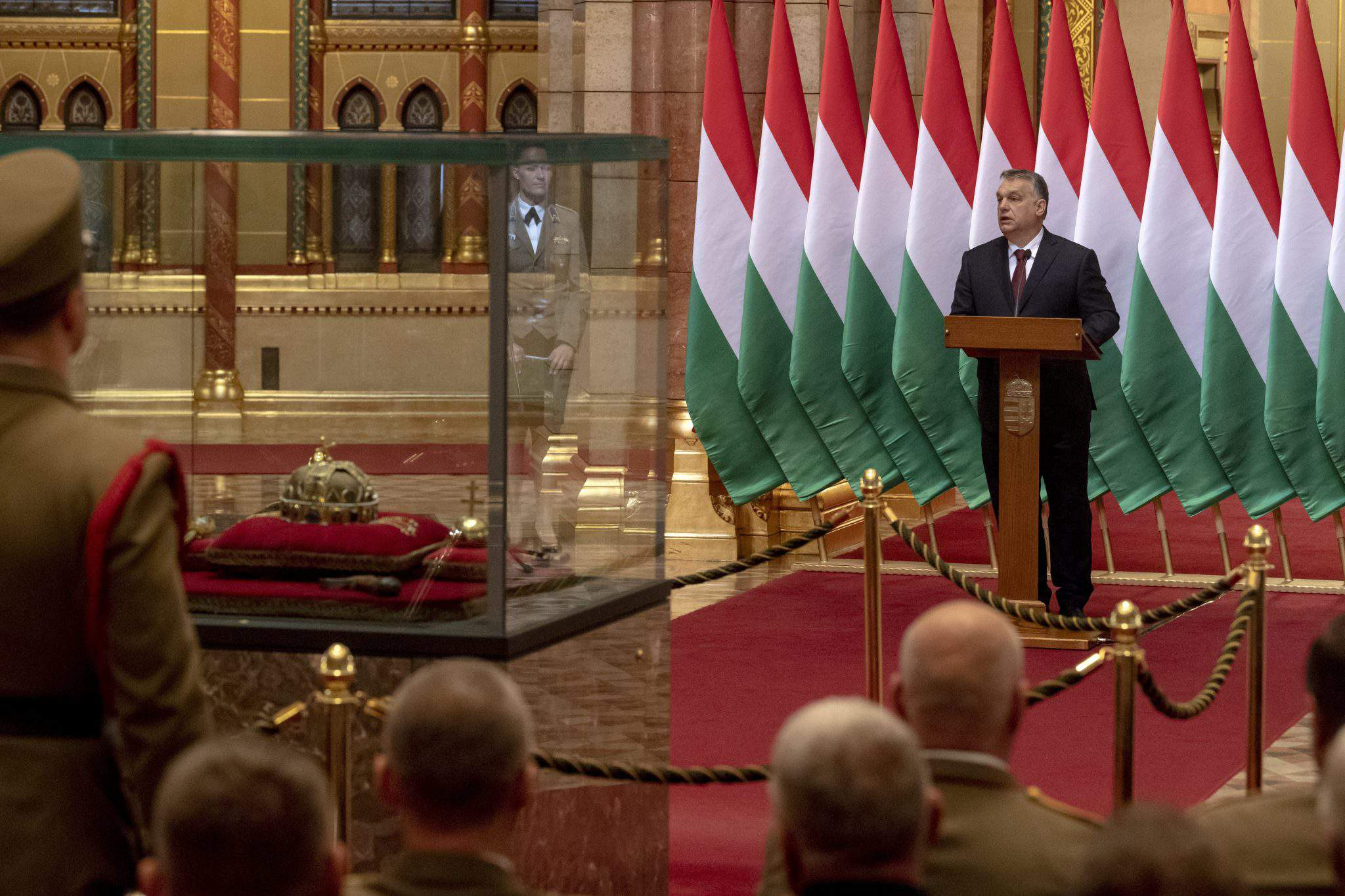 Viktor Orbán parliament defence