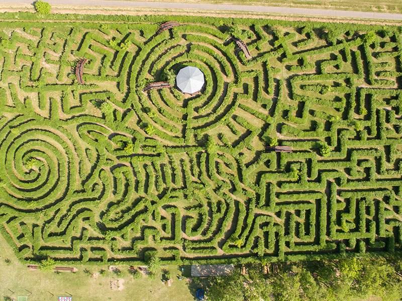 maze labyrinth ópusztaszer csillagösvény