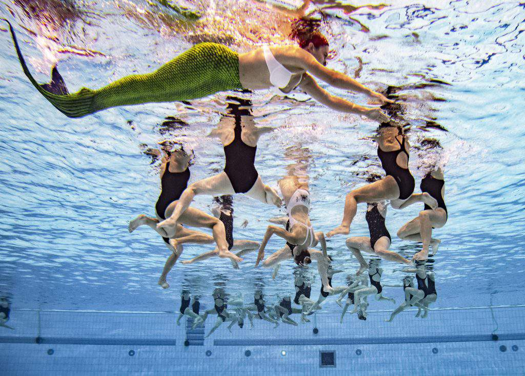 synchronised swimming world cup