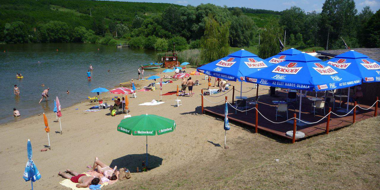 The perfect quiet beach near Budapest to escape from the crowd