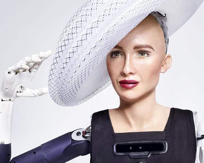 sophia robot AI