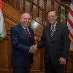 US ambassador to Hungary David Cornstein