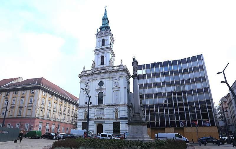 Szervita tér Budapest
