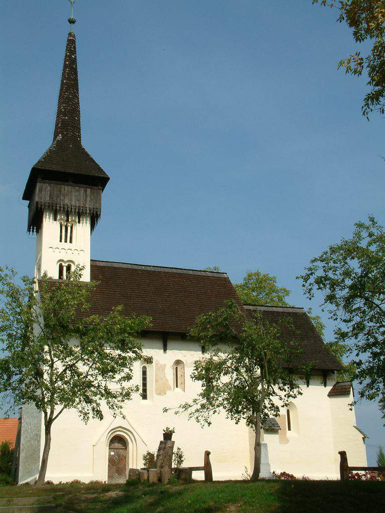 csaroda hungarian village church