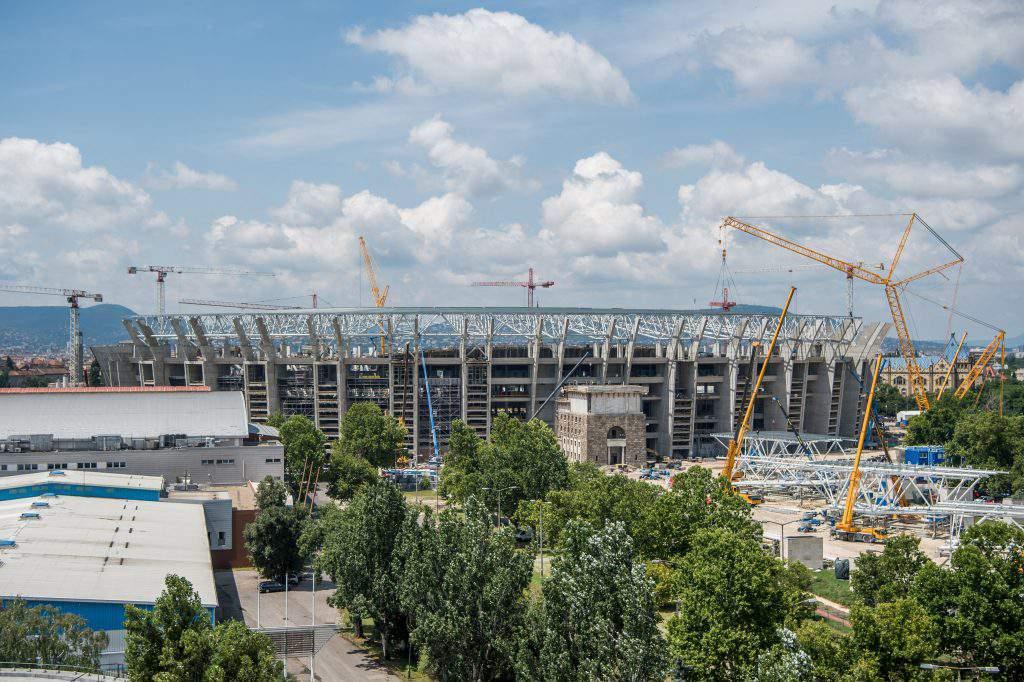 Budapest's Puskás Ferenc Stadium