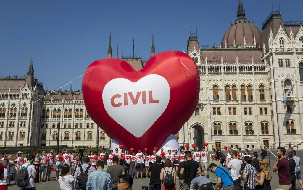 demonstration NGO parliament