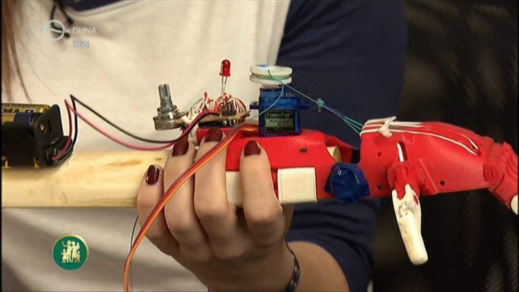 robotic hand 3D print