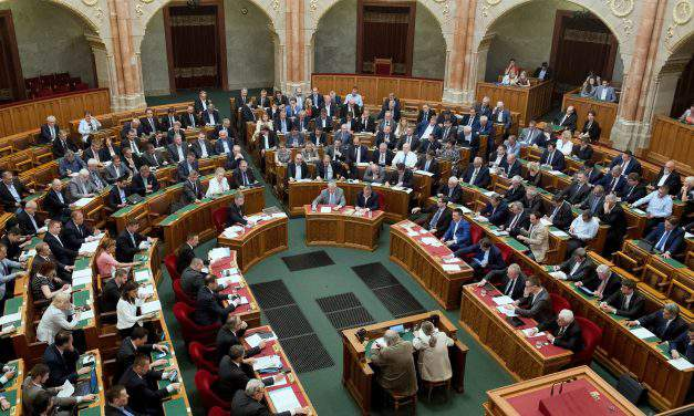 Hungarian parliament committee approves changes to laws on tax, privacy, assembly