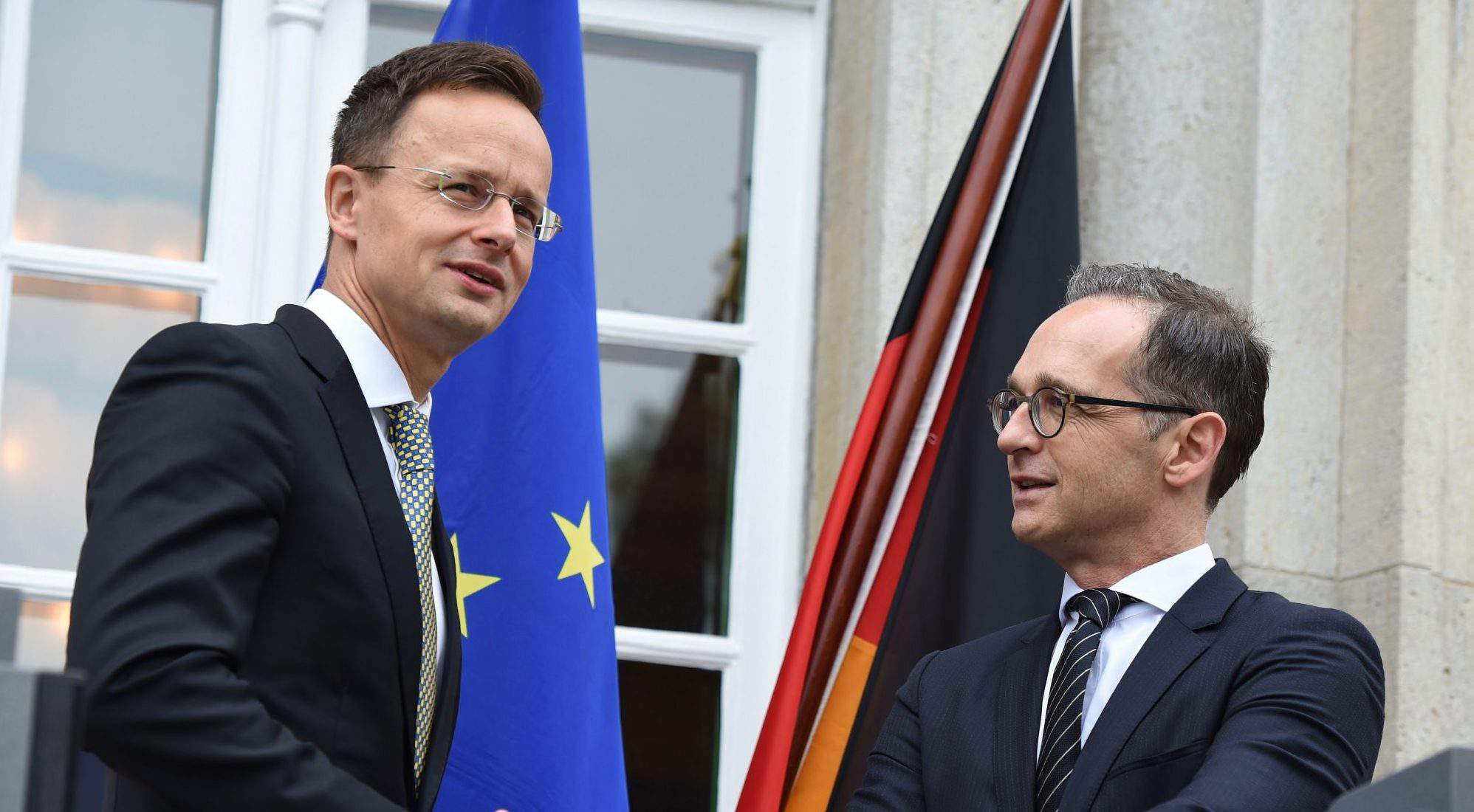Germany Hungary foreign ministers