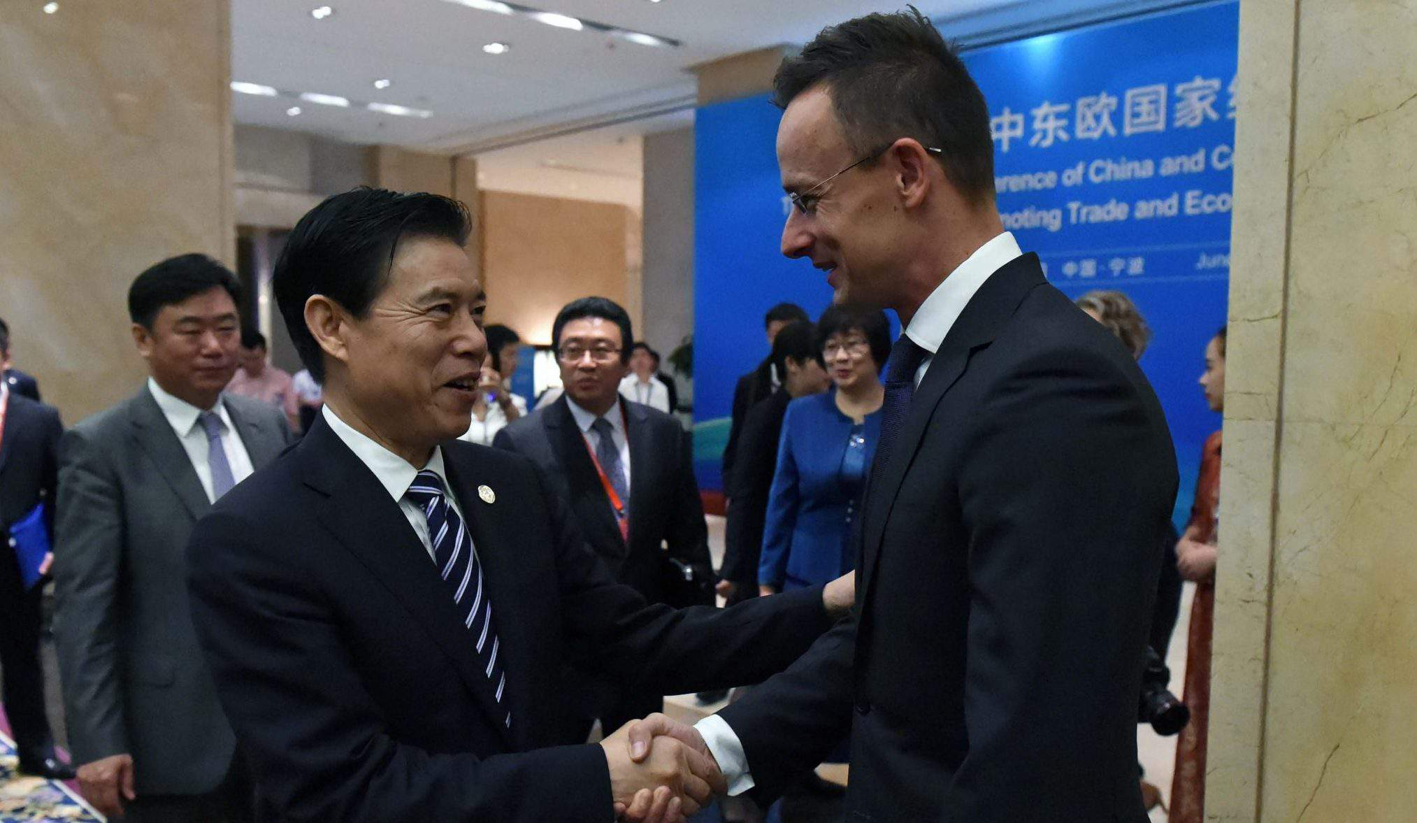 China Hungary forein minister