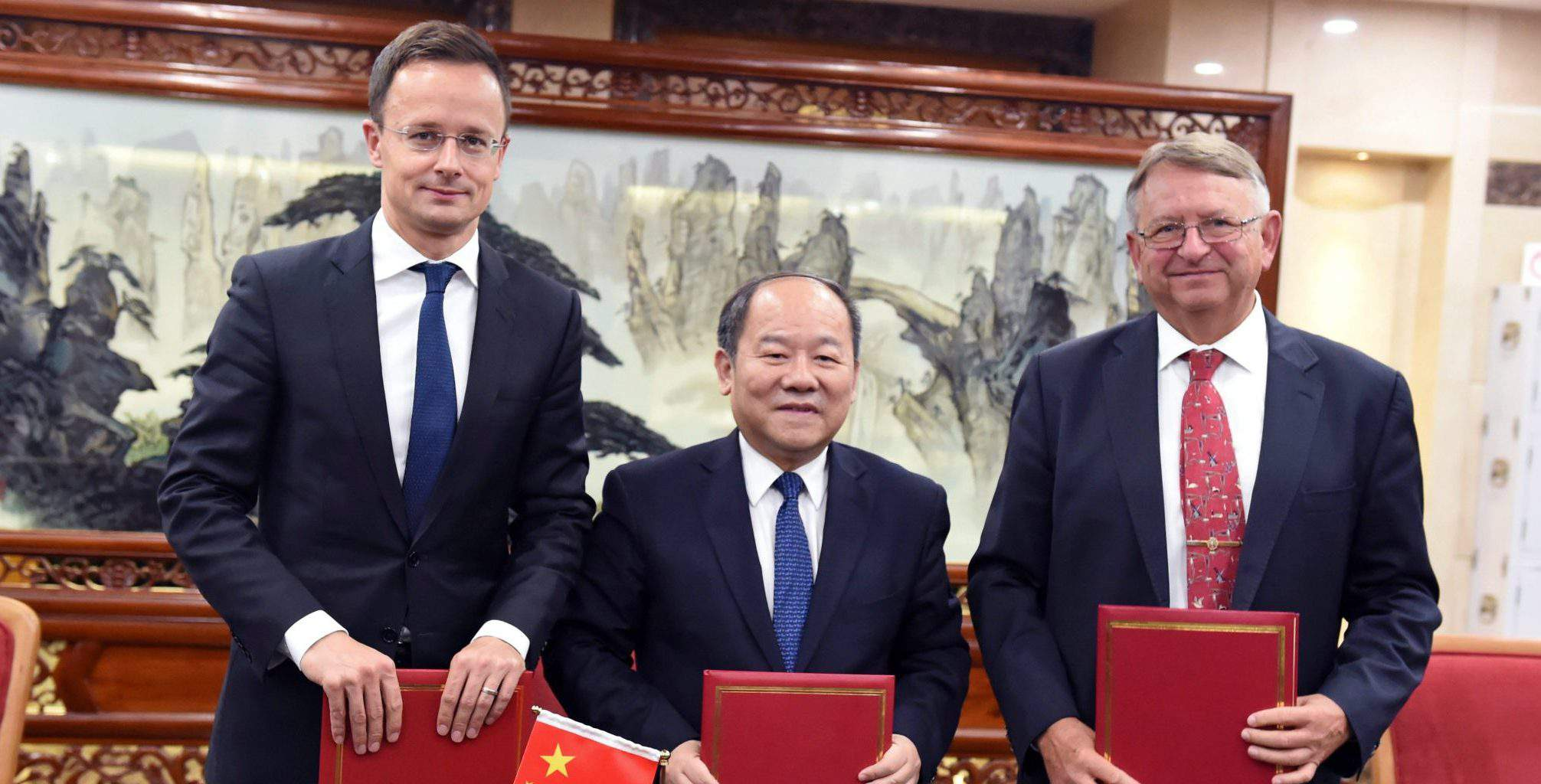 china belgrade budapest hungary